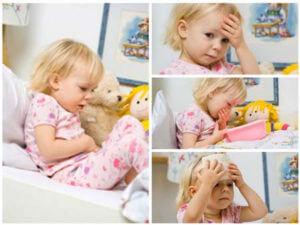 Диарея у ребенка при ротовирусной инфекции