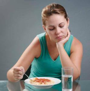 Потеря аппетита при раннем токсикозе