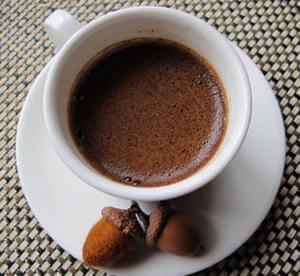 Кофе из желудей при поносе