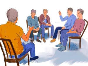 Групповая психотерапия для наркомана