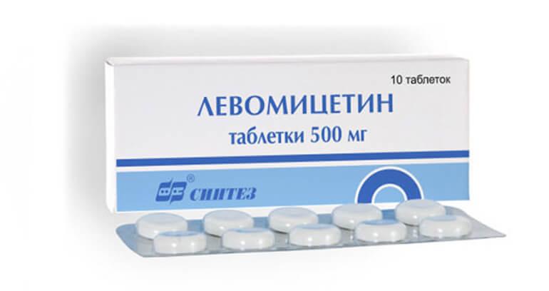 Левомицетин при отравлении