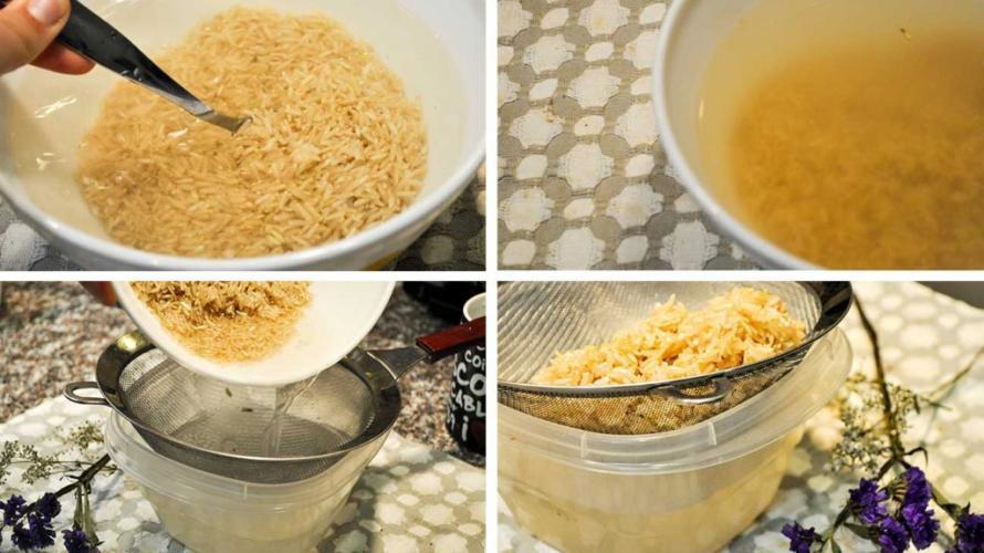 Рецепт рисового отвара при диареи