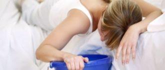Причины острого отравления