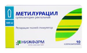 Метилурацил при отравлении детей яйцами