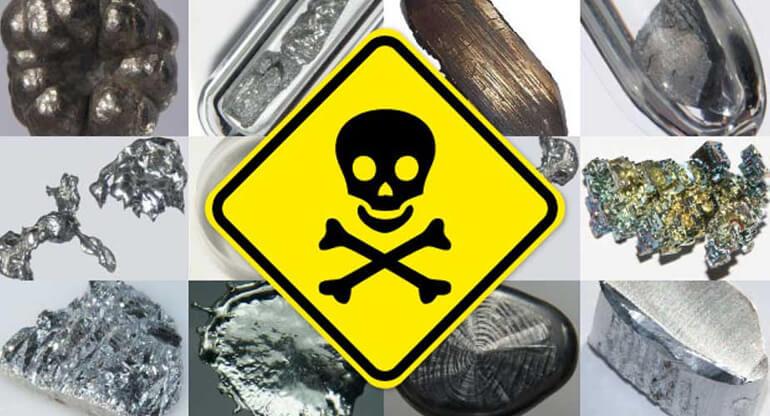 Отравление тяжелыми металлами: причины, симптомы и лечение