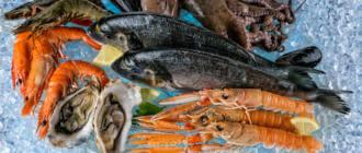 Причины отравления морепродуктами