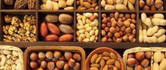 Причины отравления орехами