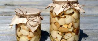 Как не отравиться маринованными грибами