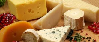 Признаки отравления сыром