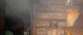 Причины отравления угарным газом в бане