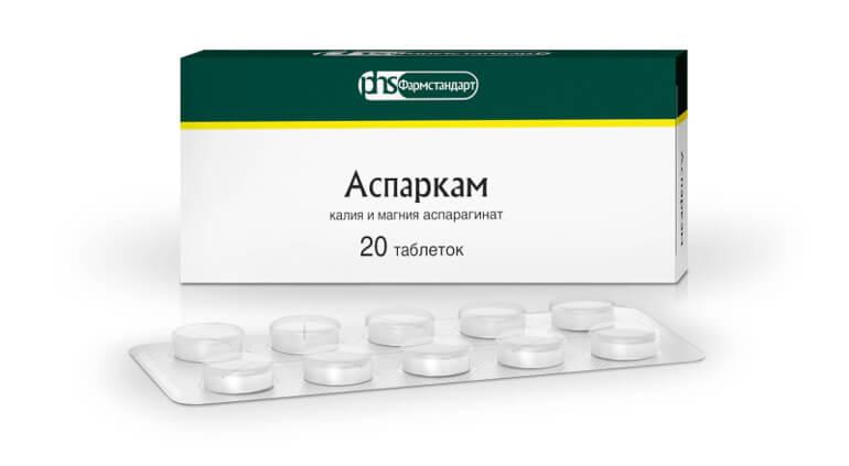 Передозировка Аспаркама: симптомы, первая помощь и лечение