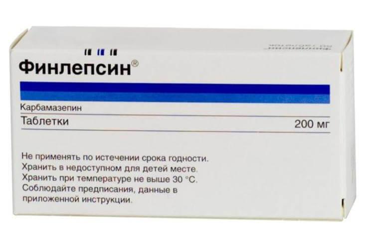 Отравление Финлепсином