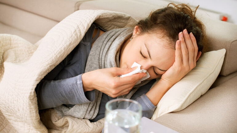 Первая помощь при вирусной инфекции