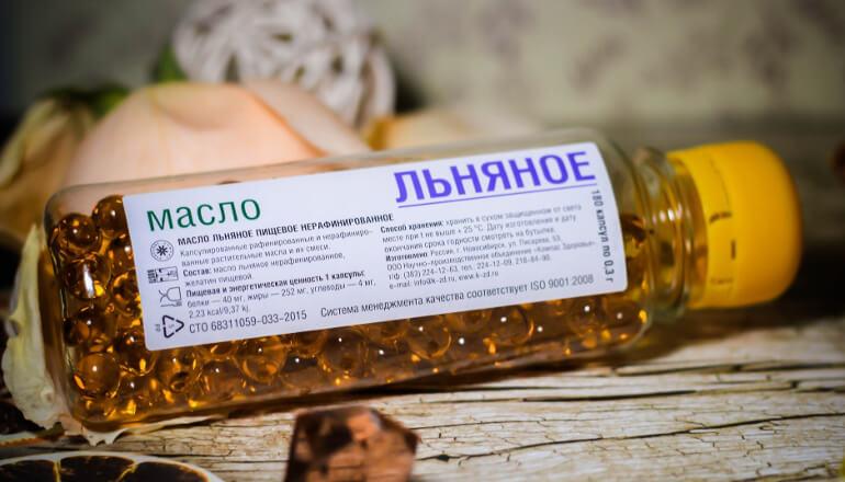 Польза и вред льняного масла в капсулах