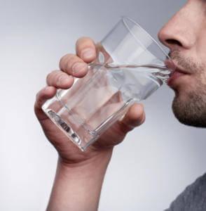 Употребления воды при похмелье