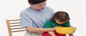 Промывание желудка ребенку в домашних условиях