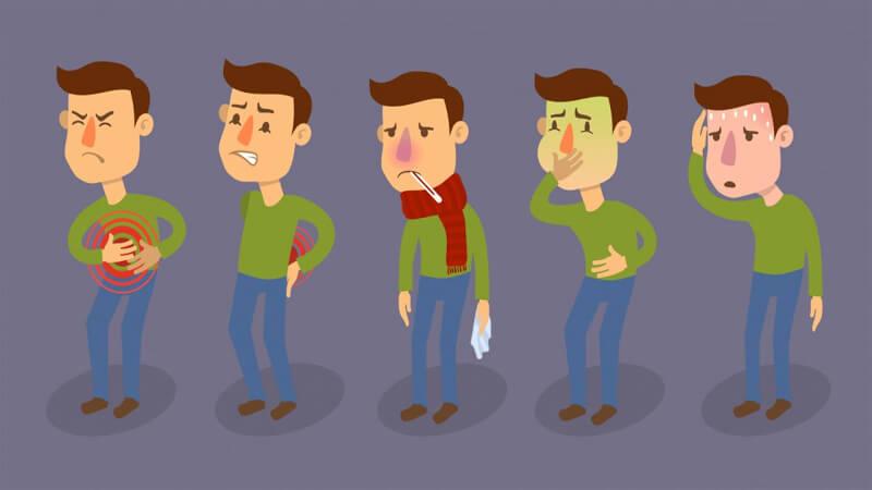 Признаки пищевой интоксикации