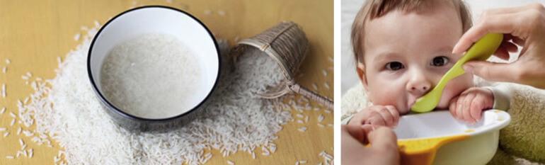 Рисовый отвар при поносе у детей