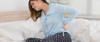 Причины болей в спине и рвоты