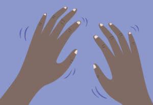Тремор пальцев рук при рвоте