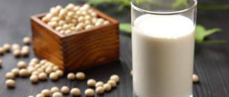 Действие соевого молока на организм
