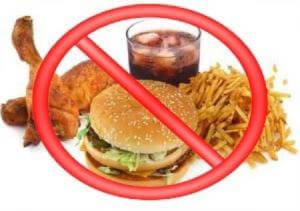 Отказ от жирного перед очищением кишечника