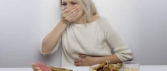 Тошнит от жирной пищи