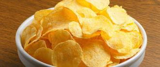 Почему вредны чипсы