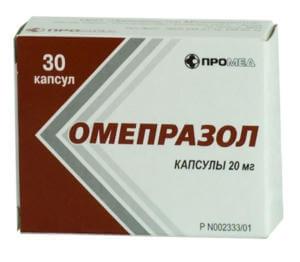Прием Диклофенака с Омепразолом
