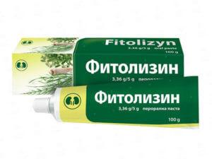 Фитолизин при избавлении от соли