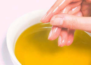 Маска из желатина для рук