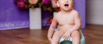 Причины жидкого стула у ребенка